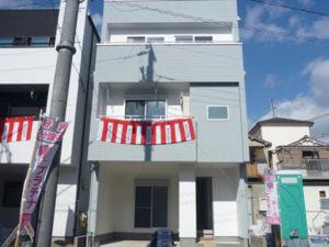 大阪市平野区長吉出戸現地