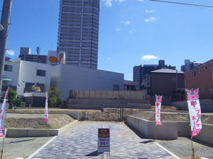 堺市東区大美野現地写真(2016年4月撮影)
